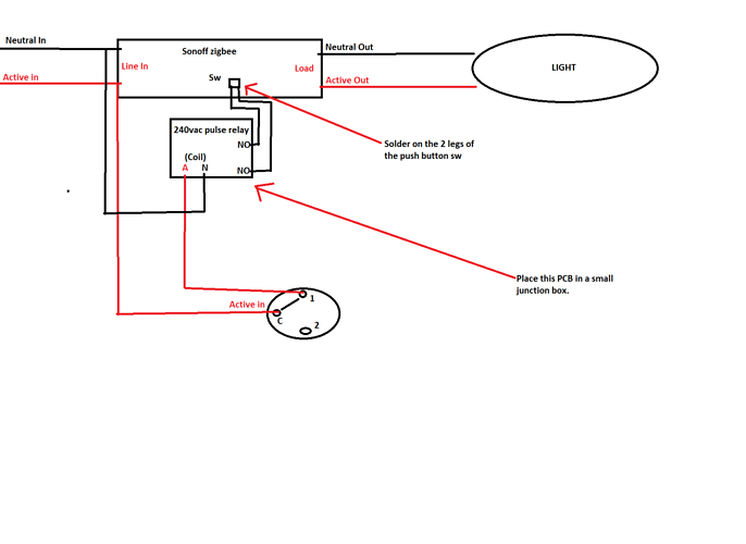 sonoff wiring ideas