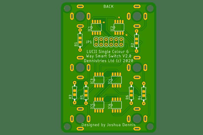 LUCII Single Colour Smart Switch 6 v1.1