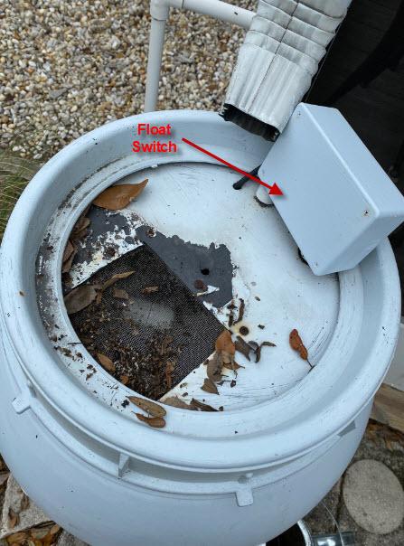RainBarrel with WaterPump Switch